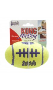 Air Kong Dog Squeaker  American Football