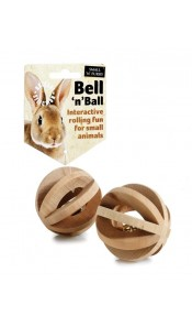 SNF Bell 'n' Ball Small Animal Toy