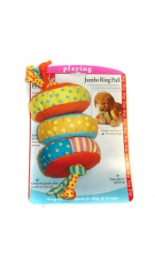 Petstages Jumbo Ring Pull Dog Toy