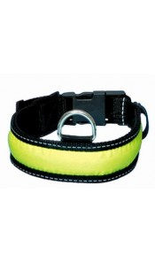 Reflective Flashing Adjustable Dog Collar