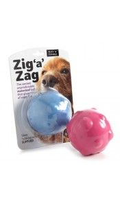 Zig 'a' Zag Motorised Ball Dog Toy