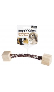 Rope 'n'Cubes Small Animals Toy