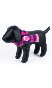 K9 Pink/Purple Stripe Doggy Scarf