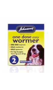 Johnsons One Dose Easy Wormer Size 2