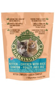 Kitten Chicken & Rice 425g