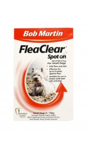 Bob Martin FleaClear Spot On for Small Dogs