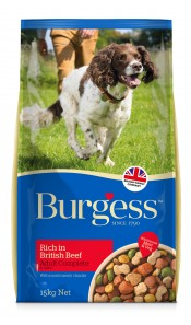 Burgess Adult Dog Beef 15Kg