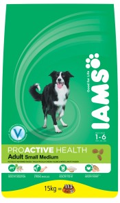 IAMS Adult Small/Medium Dog Food 15Kg Chicken