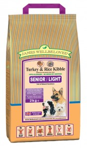 Senior Turkey & Rice Dog Food