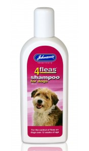 Johnsons 4Fleas Dog Shampoos