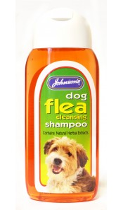 Johnsons Dog Flea Cleanse Shampoo