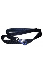 Blue Padded Nylon Dog Lead