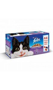 Felix Mixed In Jelly 44 Pack