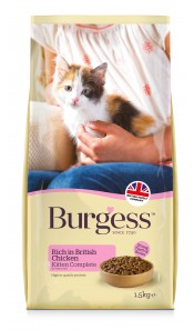 Burgess KITTEN Chicken 1.5Kg