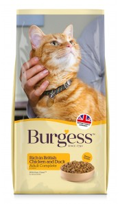 Burgess ADULT Cat Food Chicken & Duck 1.5Kg