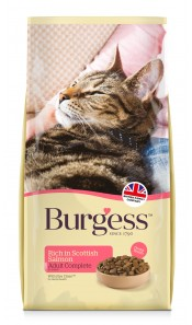 Burgess ADULT Cat Food Scottish Salmon 10Kg